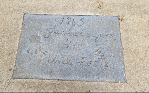 Jackie Coogan -Uncle Fester - Denver's Walk of Fame