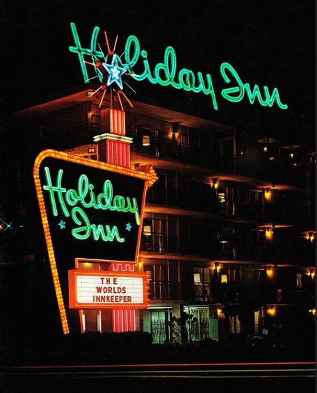 neon holiday inn