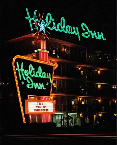 neon holiday inn