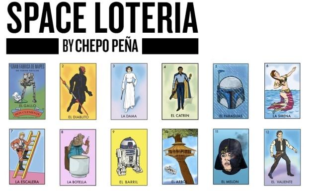 Star Wars Loteria